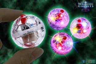 3x Trigger Object Movement Flashing LED Balls Paranormal Tool Ghost Hunting
